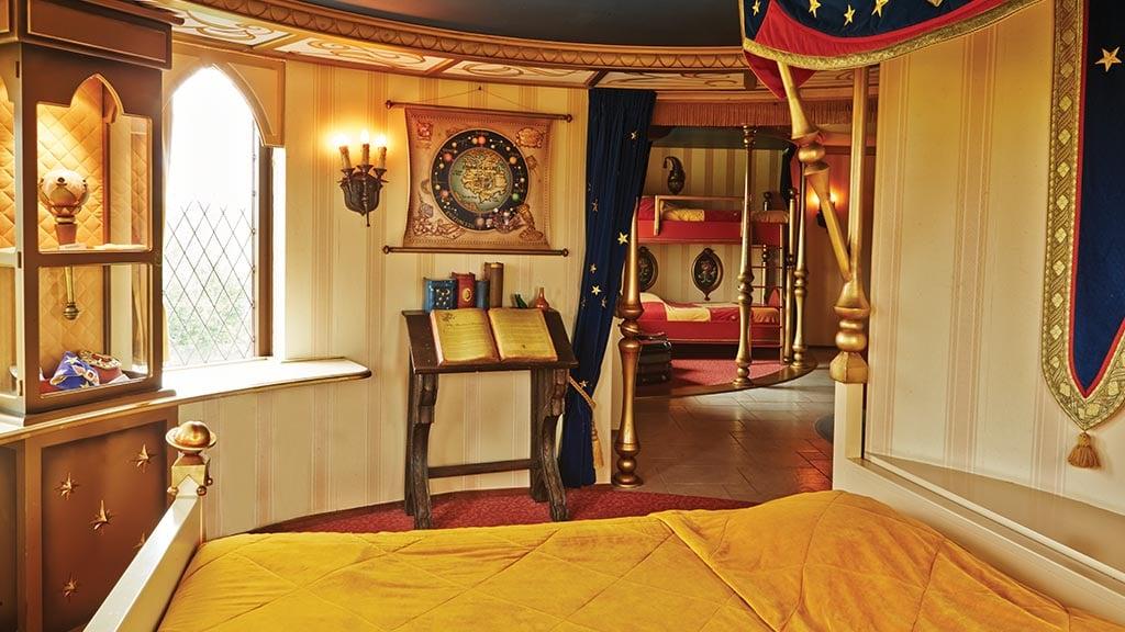 Slaapkamer En Suite : Übernachte in der pardoes suite im efteling hotel