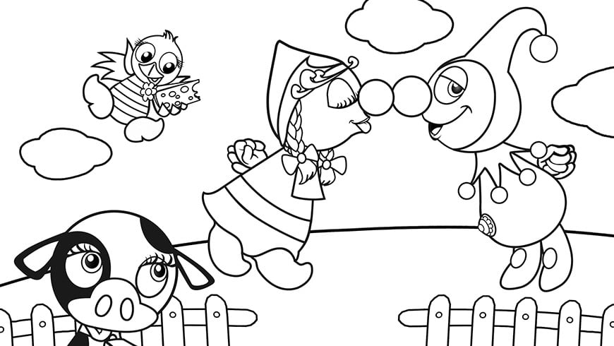 Kinder Kleurplaten Pokemon Colouring Picture Of Jokie And Jet In The Netherlands