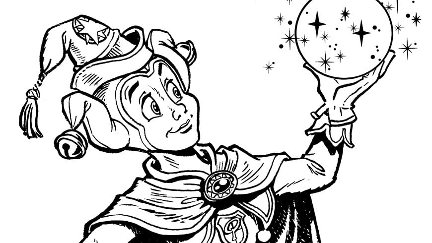 Colouring Picture Of Pardoes Efteling Kids