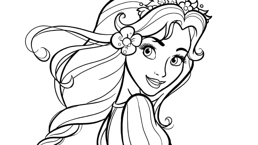 colouring picture of cinderella efteling