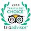 TripAdvisor - 2018 Traveller's Choice