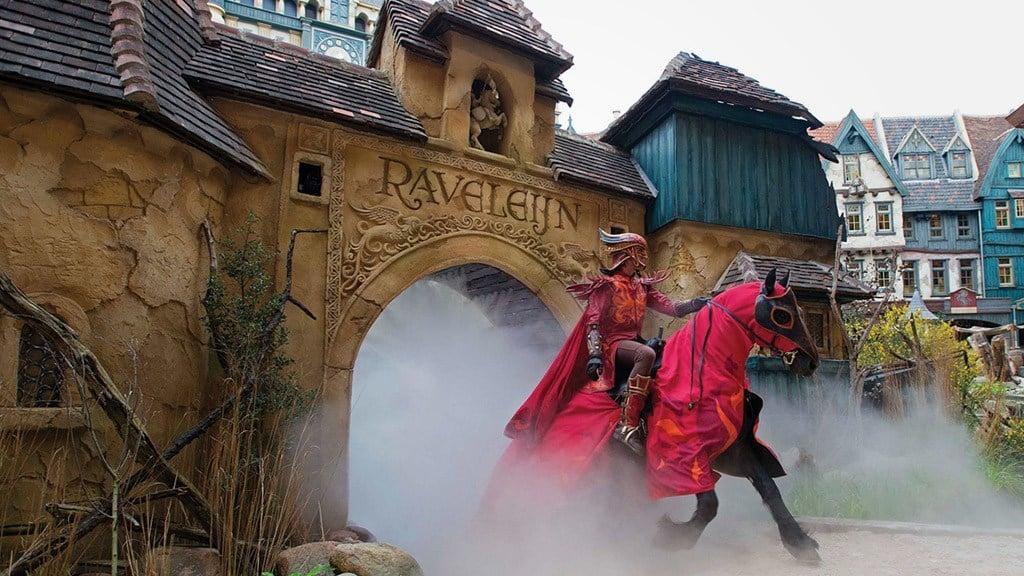 Raveleijn parkshow efteling - Foto van de show ...